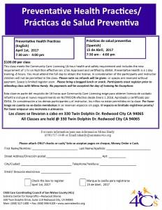 Preventative Health Practices @ Sobrato Center for Non-Profits   Redwood City   California   United States