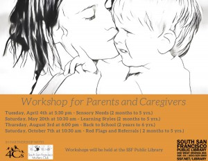 Learning Styles Workshop for Parents and Caregivers @ South San Francisco Public Library | South San Francisco | California | United States